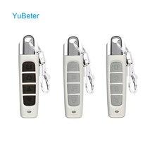 YuBeter 315 MHZ 433MHZ télécommande ABCD 4 boutons Clone télécommande sans fil duplicateur ouvre porte de Garage contrôleur de copie