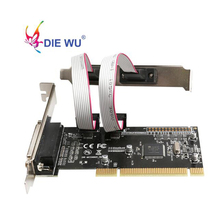 Adapter Serial-Port LPT Pci Express Riser-Card Pci-E-Expansion-Card RS232