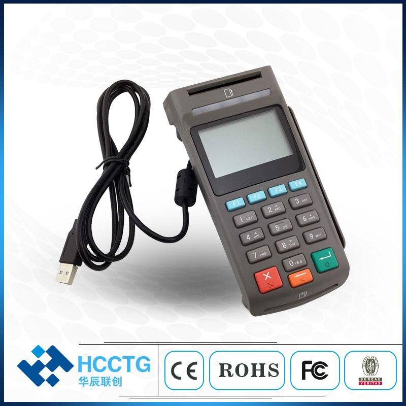 Bureau ATM POS USB Pinpad sécurité USB e-paiement POS Pinpad avec écran LCD pour NFC magnétique et Chi IC lecteur de carte Z90PD