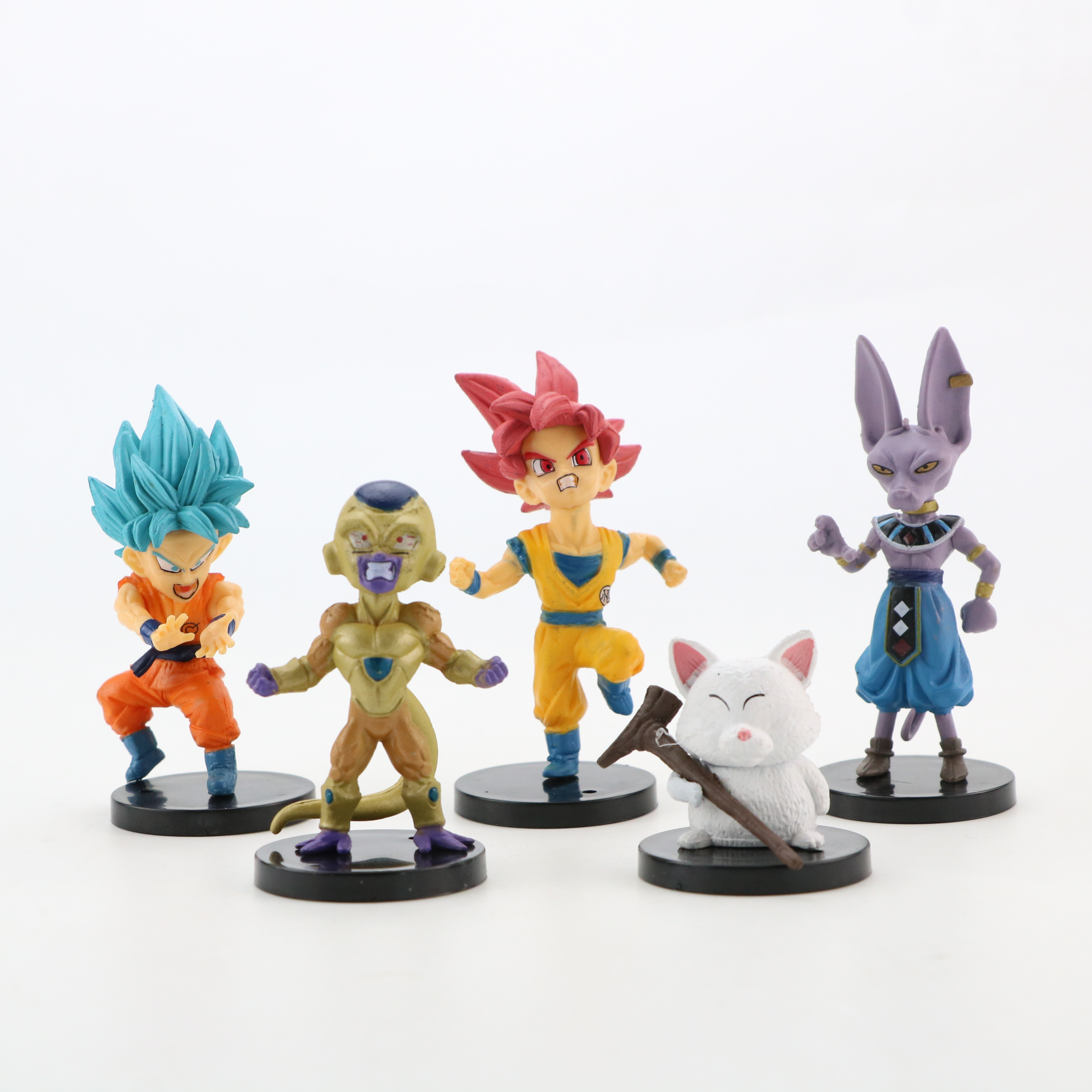 Image 3 - 10pcs/lot Dragon Ball Gogeta Vegeta Z Son Goku Gohan Broly Trunks Frieza Majin Buu Piccolo Dragonball Action Figure Set PVC ToysAction & Toy Figures   -
