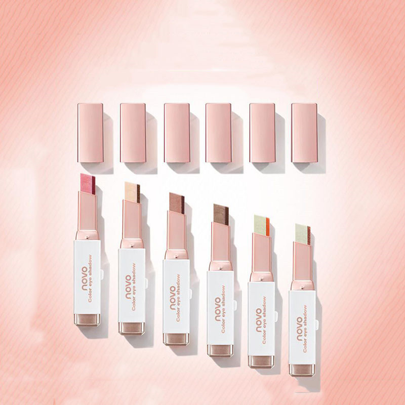 NOVO-eyeshadow-pallete-Glitter-Eyeshadow-Pencil-Double-Colors-Eye-Shadow-Stick-Nude-Shimmer-eyes-Makeup-Smooth
