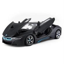 1:24 I8 alaşım araba modeli Diecasts ve oyuncak araçlar toplamak hediyeler olmayan uzaktan kumanda tipi taşıma oyuncak