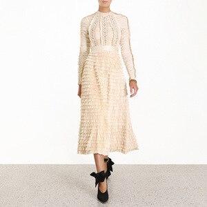 Женское вечернее платье с длинным рукавом, элегантное модное платье для ночного клуба высшего качества