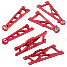 Aluminium Draagarmen Set 33601G 33602G 31603 33603G 31604 Voor 1:10 Elektrische Himoto E10XT E10XTL Katana Truggy upgrade Onderdelen