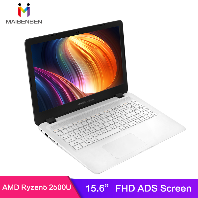MaiBenBen DaMai E527 for Office Laptop AMD Ryzen5 2500U+AMD Radeon /8G/16G RAM/256G PCI E SSD+1TB HHD/15.6 HD ADS
