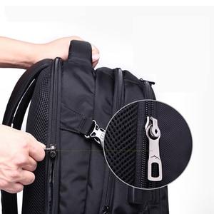 Image 5 - Mochila Schweizer männer anti diebstahl Rucksack USB Notebook Schule Reisetaschen wasserdichte Business 15,6 17 zoll laptop rucksack frauen