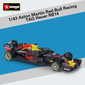 Image 3 - Bburago 1:43 スケール F1 redbull インフィニティレース RB9 RB14 W07 SF16H SF71H ダイキャストメタルモデルカーのためのコレクション友人ギフト