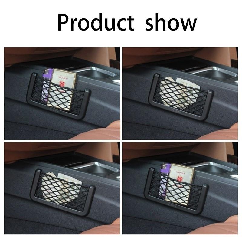 Car Net Storage Bag Pocket holder CIVIC TYPE S//R//JAZZ//ACCORD//HRV//S2000//CRV