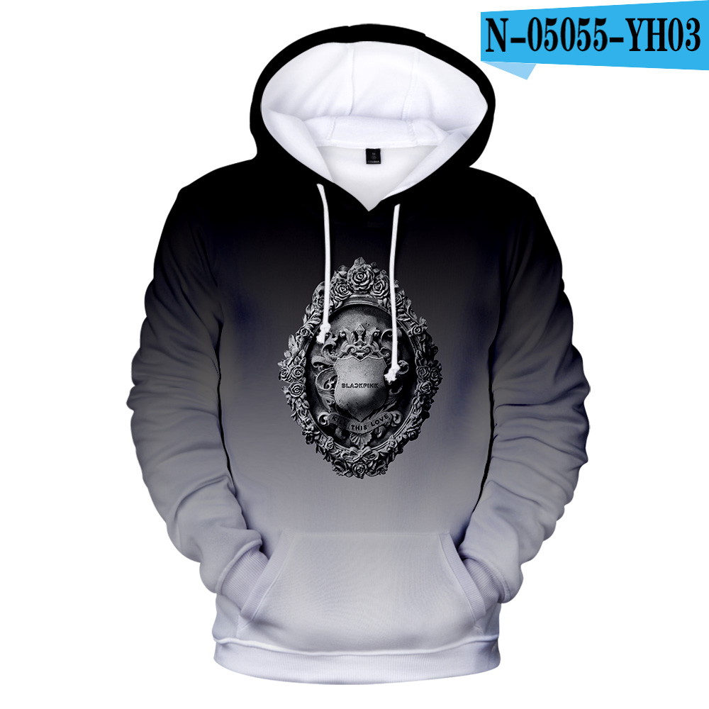 Nette Nieuwste Persoonlijkheid Blackpink Hoodies Women/Women Hoodie Sweatshirts Streetwear Hoge Kwaliteit Kinder Luxu Lose
