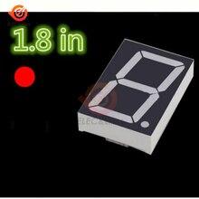 18101BS 1.8 Inch 7 Segment 1-Bit LED Display module Digital Tube Red Common Anode