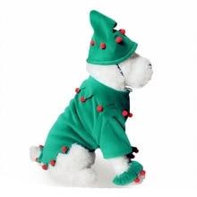 Одежда для собак es Рождественский костюм милая мультяшная Одежда для маленьких Одежда для собак костюм платье Рождественская Одежда для собак Kitty