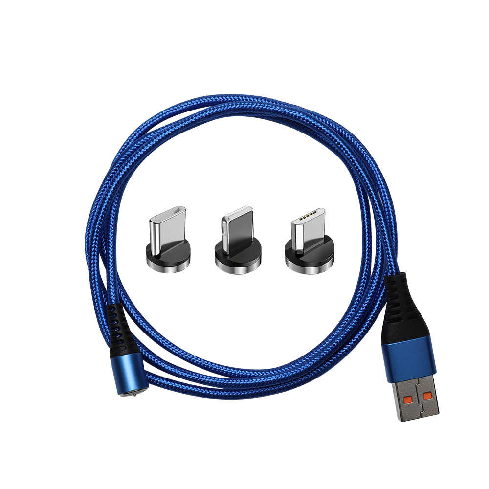 PCER Cavo USB 3A Veloce di Ricarica cavo USB di Tipo C Magnete Cavo del Caricatore di Dati Cavo di Ricarica Micro USB Del Telefono Mobile cavo USB Cavo
