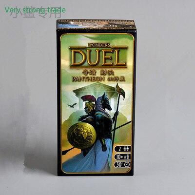Настольная игра «партенон», 7 чудес, дуэль, 2 игрока, настольная игра, карта, английская версия, игра Double Duo vs Family|Настольные игры|   | АлиЭкспресс
