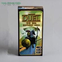 Jeu de cartes de stratégie parthénon Expansion 7 wonderduel pour 2 joueurs, Version anglaise, Double Duo vs famille