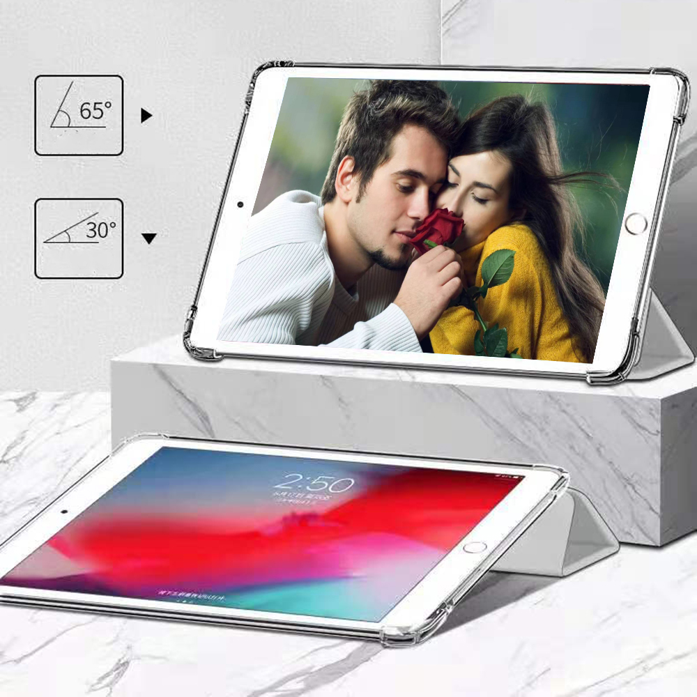 case 8th 2020 soft A2270 A2428 For iPad model 7th Generation 10.2 inch bottom Silicone