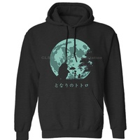 My Neighbor Totoro Happiness black Mens Neutral (Womens) Winter Hoodies Sweatshirts Free Shipping