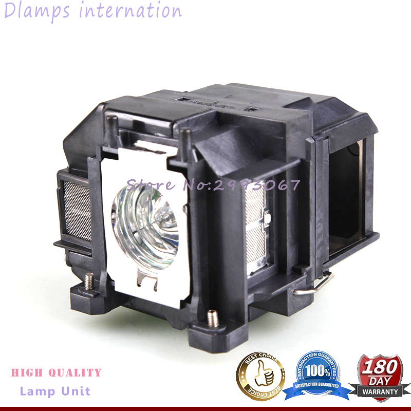 EB-S02 EB-S11 EB-S12 EB-W12 EB-W16 EB-X02 EB-X12 EB-X14 EB-X14G EH-TW550 EX3210 H494C H433B Projector Lamp ELPL67 for EPSON