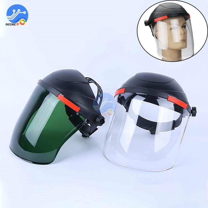 Safety Workwear Eye Protection Full Face Visor Mask Adjustable Shield Radiation Anti-splash Personal Protect For Welding