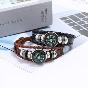 Compass Bracelet Survival Adve