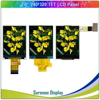"2.0"" Inch 240*320 Serial SPI / 8_Bit MCU TFT LCD Module Display Screen Panel LCM Build-in ST7789/HX8347D Driver"