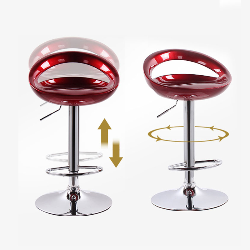 New Bar Chair Modern Minimalist High Chair Bar High Stool Mobile Phone Shop Stool Back Seat Bar Stool Home Lift Bar Chair