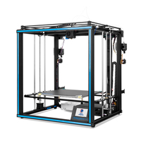 Tronxy Hot 3D Printer X5SA 2E Double Feeding Port One Extrusion Head Full Aluminium Frame Kit Big Printing Size 330*330*400mm