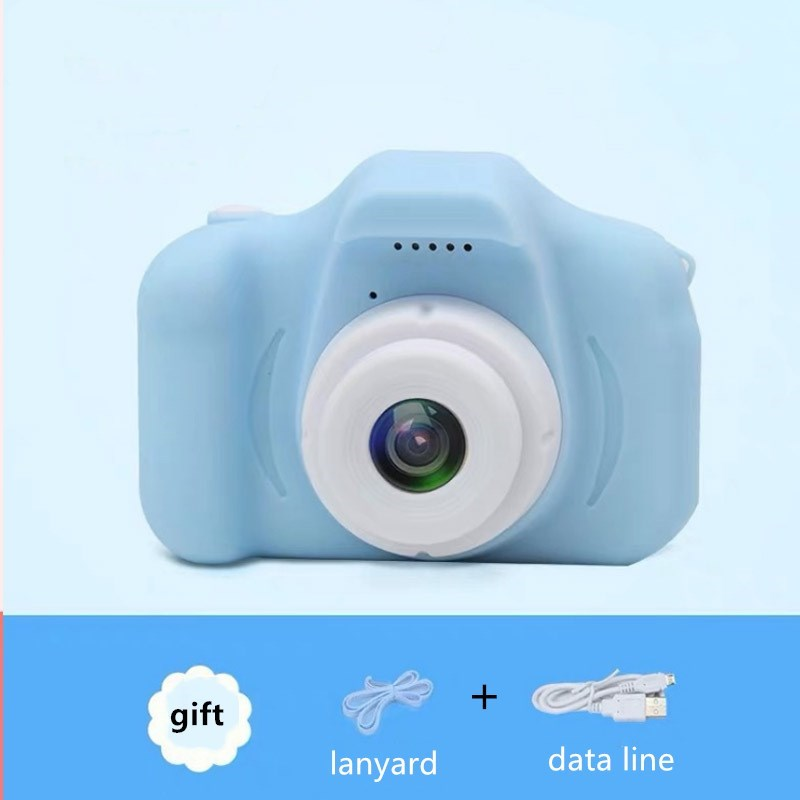 Children's Camera 2.0 Inch Color Display Waterproof Cute Digital Camera 1080P HD Screen 8 Million Pixel Kids Mini Camera Gift