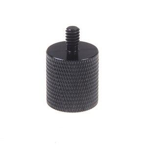 Aluminum Alloy Microphone 5/8 To 1/4 Adapter Screw Bracket Conversion Level Tripod Adapter For Mic Converter Photo Studio Kits