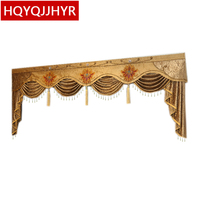 High quality Valance custom made for living room bedroom hotel apartment windows