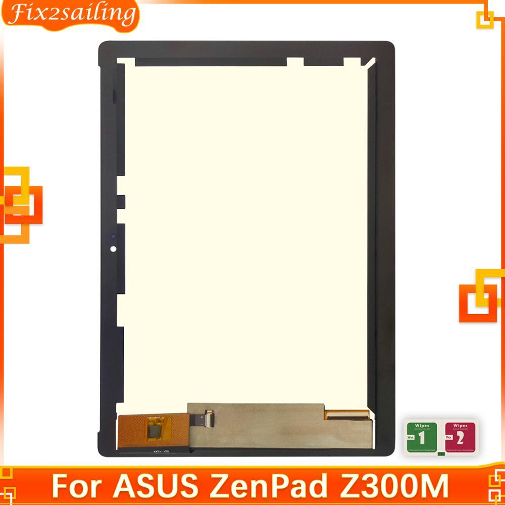 Pantalla LCD para ASUS ZenPad 10 Z300 Z300M, montaje de digitalizador con pantalla táctil para Asus Z300M, piezas de repuesto