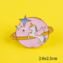 Skull Pins Unicorn Space Lapel Pin Bags Badge Gifts Anime Icons Panda Bunny Enamel Pins Metal Badges On Anime Backpack