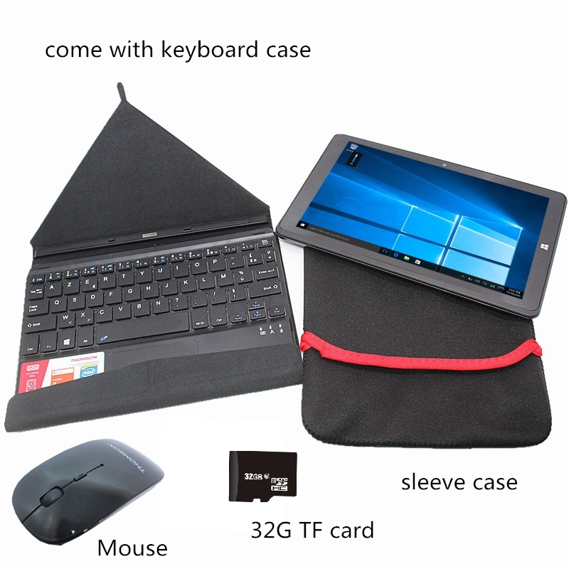 Sales!!8.9 Inch Windows10 G1-Hero9 Home 1+32GB With Original Dock Keyboard And  Sleeve Case And Blutooth Mouse And 32GB TF Card