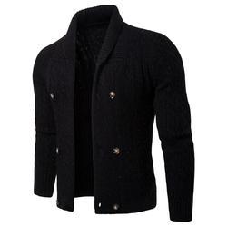 Pull en coton hommes pulls à manches longues vêtements d'extérieur homme chandails col en v