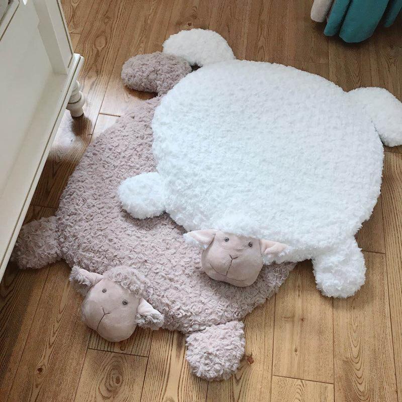 Cute Cartoon Baby Play Mat Kids Gym Activity Carpet Sheep Floor Mats Tapis Bebe Toys For Kids Infant Rug Newborn Baby Room Decor