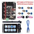 BIGTREETECH BTT SKR 2 32 Bit Control Board+TFT35 V3.0 TMC2209 TMC2208 Upgrade SKR V1.4 Turbo Motherboard For Ender 3 V2 Ender 5