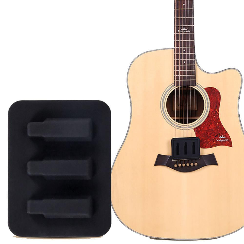 Portable Guitar Mute Silicone Silencer Pad Sound Weaken Guitar Parts And Accessories