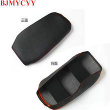 BJMYCYY For Nissan Sylphy 2012-2019  Car-styling Interior trim for automobile armrest case decorative sleeve Accessories