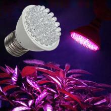 Светодиодный гидропонный светильник для роста E27 светодиодная лампа для выращивания полный спектр цветов 110 В/220 В УФ лампа для выращивания растений