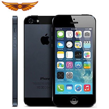 Original Fabrik Entsperrt Apple iPhone 5 Dual Core 8MP WCDMA 16GB/32G/64GB ROM 1GB RAM IOS 7 4,0 Zoll IOS Smartphone