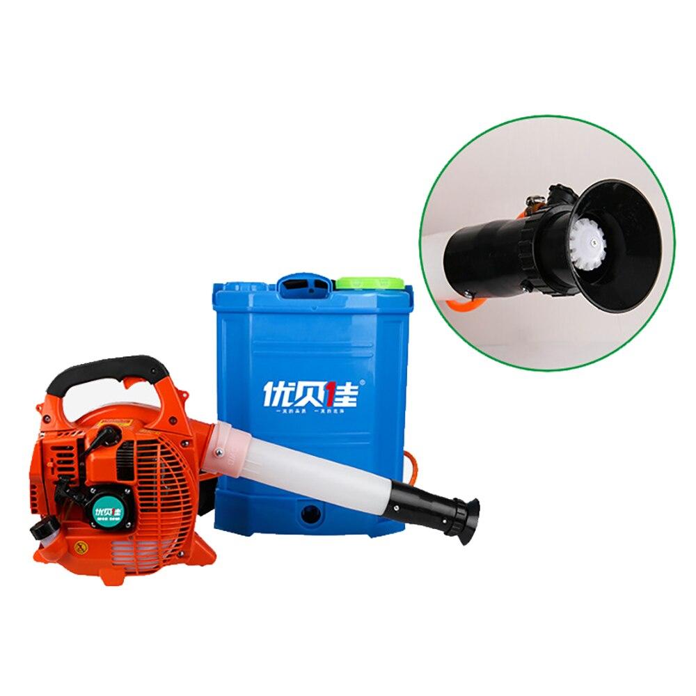 Oil Sprayer Fogger Wind Fog Misty Machine Portable Gasoline Smoke Spray Machine Air Delivery Sprayer Disinfect Sterilize