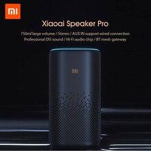 Оригинальный Xiaomi Xiaoai Pro динамик AI bluetooth HiFi аудио беспроводной сетчатый шлюз стерео инфракрасное управление Mi динамик управление через прило...