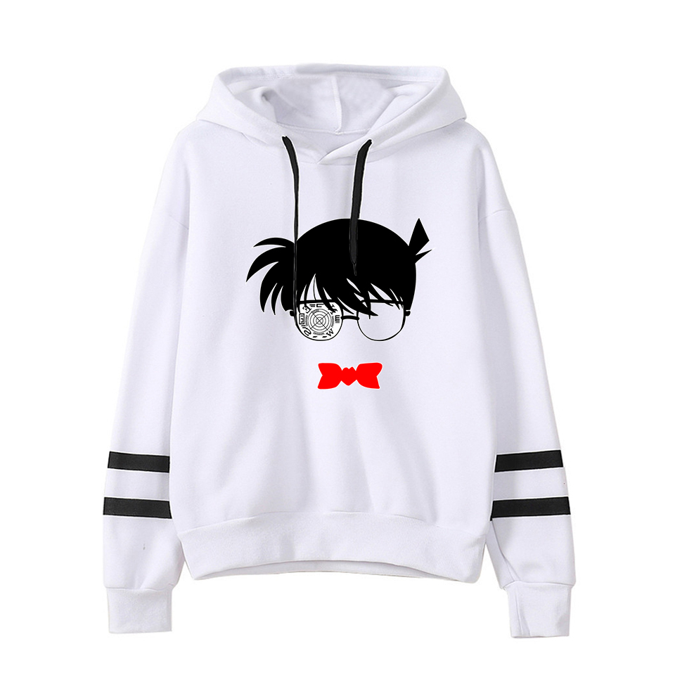 Detective Conan Fashion Print Case Closed Hoodies Outwear Sweatshirt Casual Unisex Soft Streetwear Trendy Hot Sale Clothes