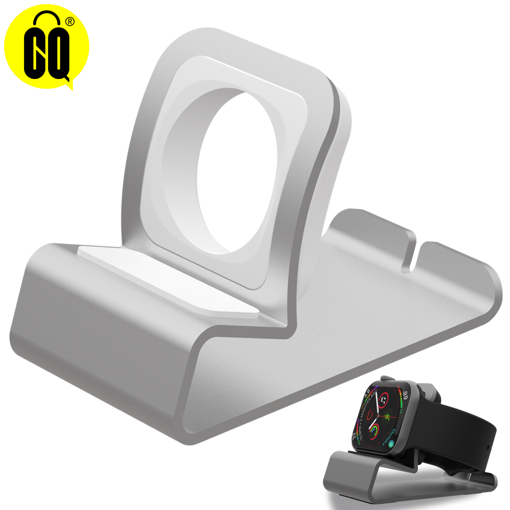 Aluminum silicon Bracket Charger Dock Station Charging Holder for apple watch Stand Series SE/6/5/4/3/2/1Charging Cradle Stand