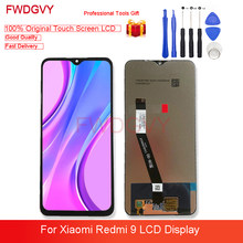6.53'' Original For Xiaomi Redmi 9 LCD Display 10 Touch Screen Panel LCD Digitizer Assembly for Redmi9 M2004J19G M2004J19C Lcds