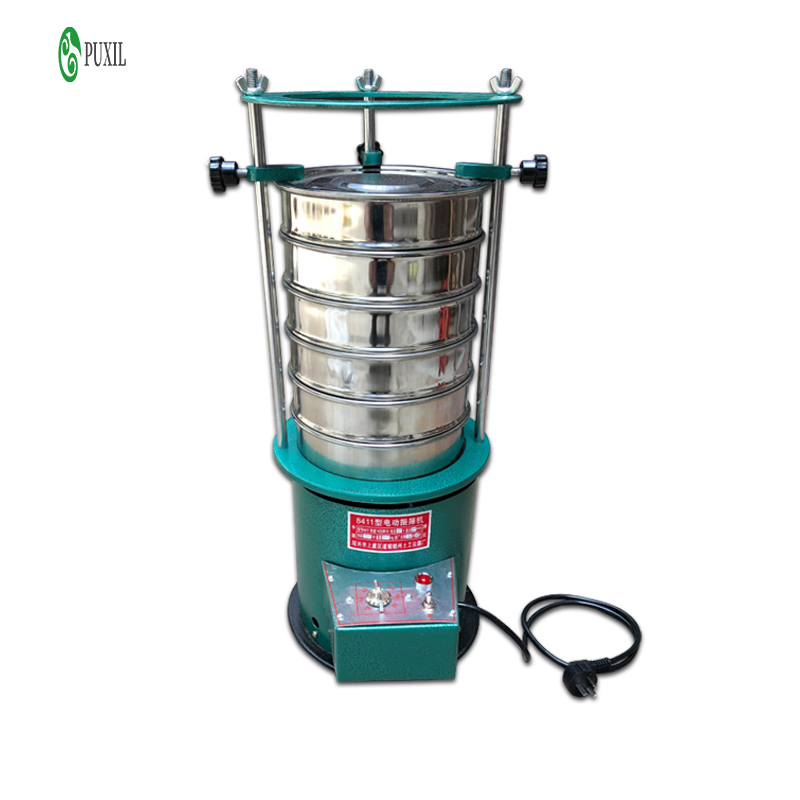 30CM /20CM Diameter 8411 Type Electric Vibrating Screen Machine Sieve Stirrer Machine 220V