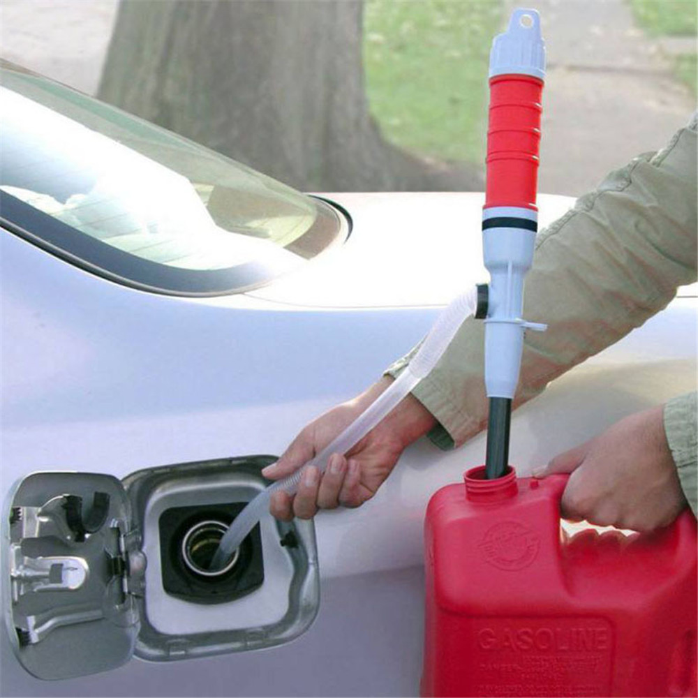 Car Auto Vehicle Fuel Gas Transfer Suction Pumps Household Outdoor Portable Liquid Oil Electric Handheld Water Pump Car Styling