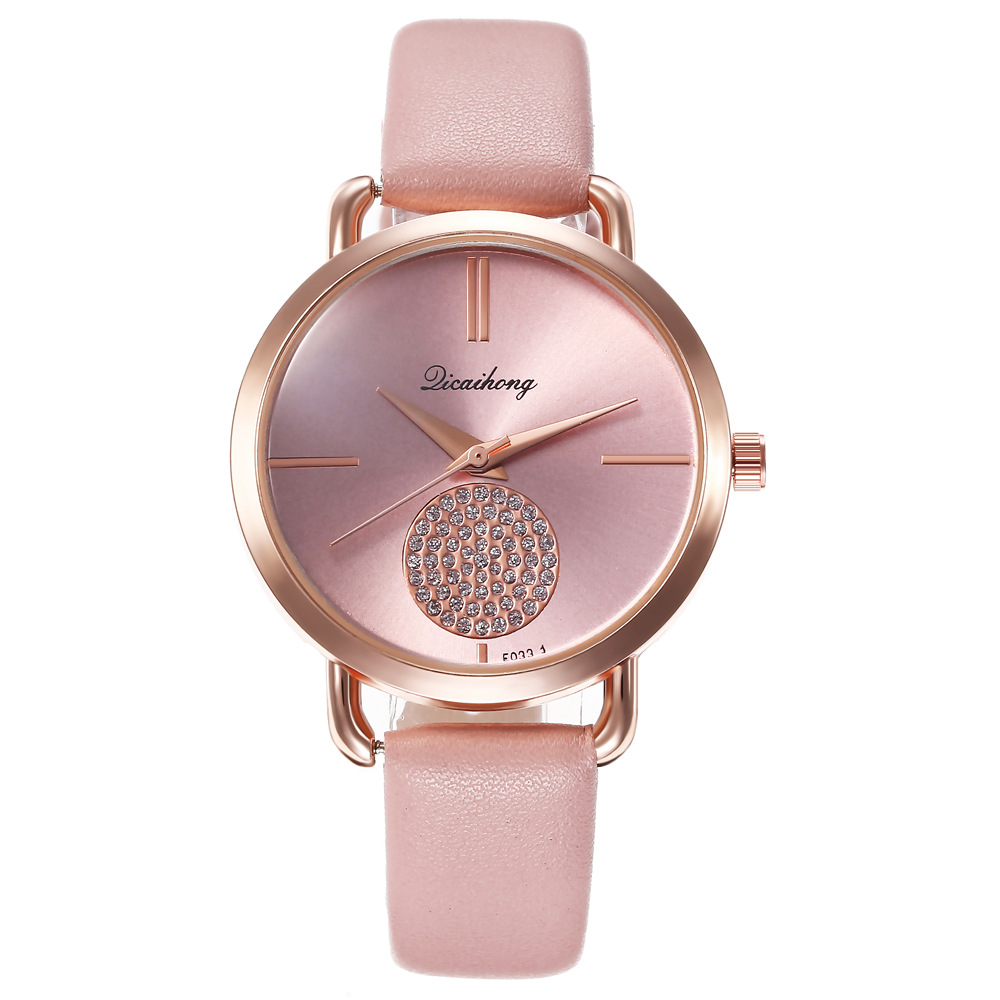 Fashion Simple Leather Women Watches Ladies Fashion Casual Dress Quartz Watch Female Gift Clock