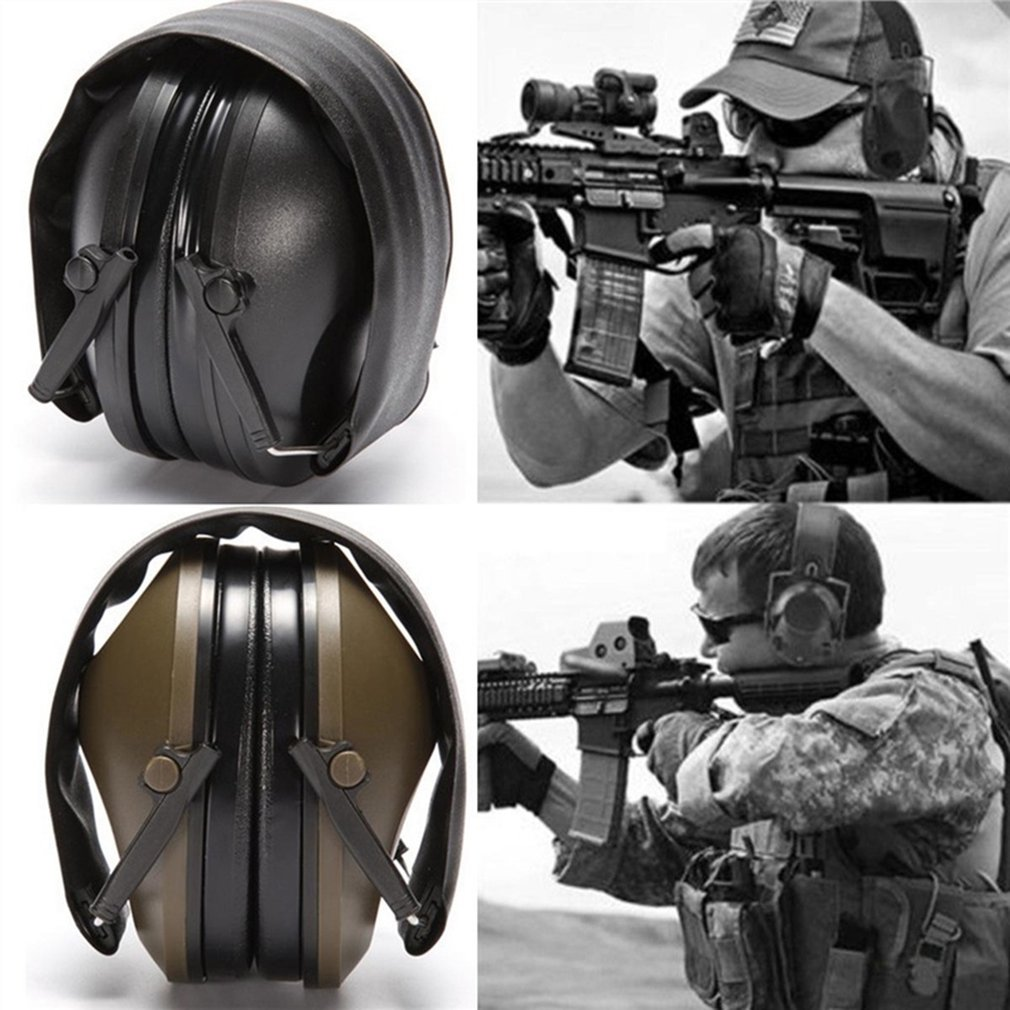 Head-mounted Non-noise Reduction Version Of The Fifth Generation Chip Tactical Headset Earmuffs Pickup Anti-noise