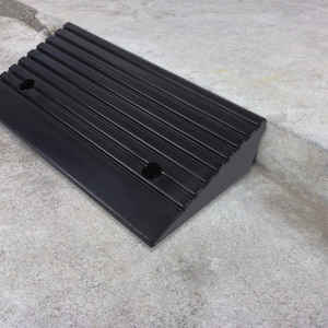 Ramps Car-Rubber-Ramp Threshold for Scooter Motorbike Wheelchair Curb Portable 2pcs