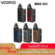 VOOPOO – vaporisateur de cigarettes électroniques Drag Max, Kit avec boîte de 177W et réservoir de 4.5ml Pnp MTL, bobines PnP VS Drag X/Gen S